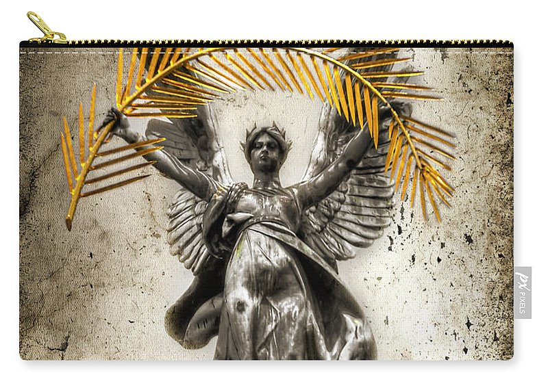 City Carry-all Pouch featuring the photograph The Muse by Evelina Kremsdorf