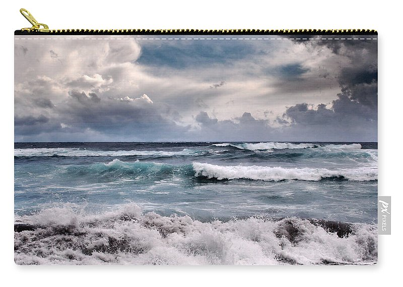 Aloha Carry-all Pouch featuring the photograph The Music Of Light by Sharon Mau