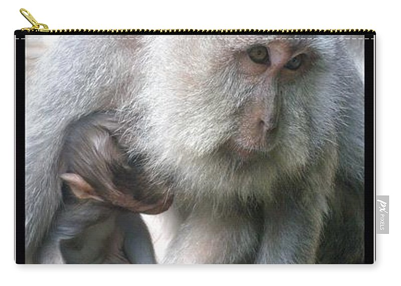 Bali Carry-all Pouch featuring the photograph The Nature Of Nurturing by Mark Sellers