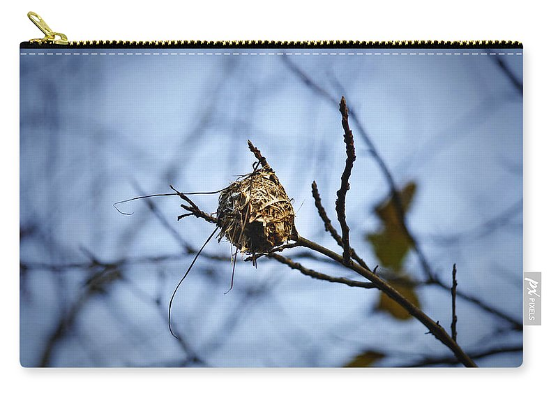 Nest Carry-all Pouch featuring the photograph The Nest 1 by Teresa Mucha