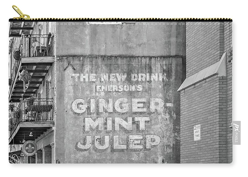 Nola Carry-all Pouch featuring the photograph The New Drink Monochrome by Steve Harrington