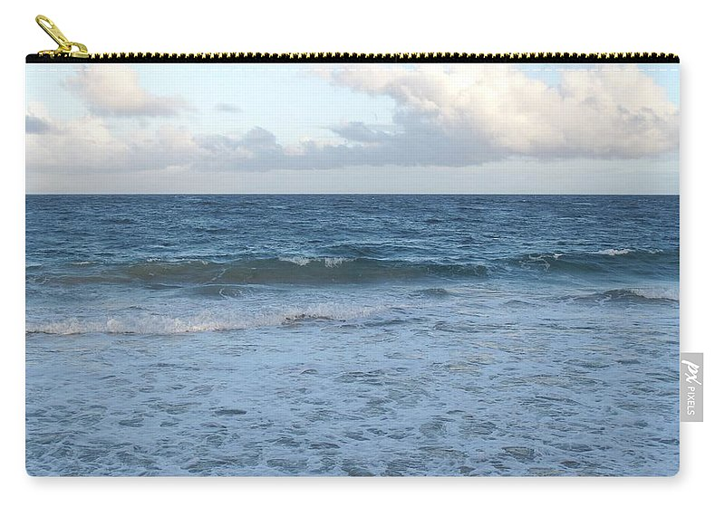 Surf Carry-all Pouch featuring the photograph The Next Wave by Ian MacDonald