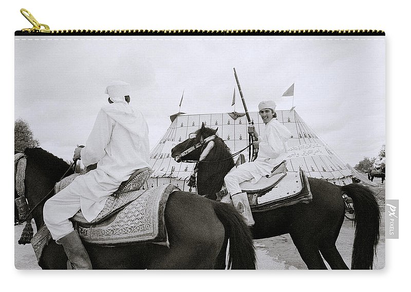 Horse Carry-all Pouch featuring the photograph The Noble Berber by Shaun Higson