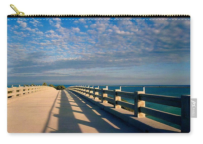 Bridges Carry-all Pouch featuring the photograph The Old Bridge by Susanne Van Hulst