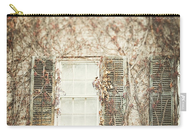 Window Carry-all Pouch featuring the photograph The Old Governor's Mansion by Lisa Russo