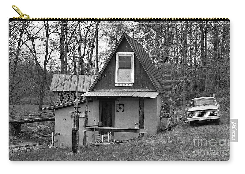 Mill Carry-all Pouch featuring the photograph The Old Mill by Richard Rizzo