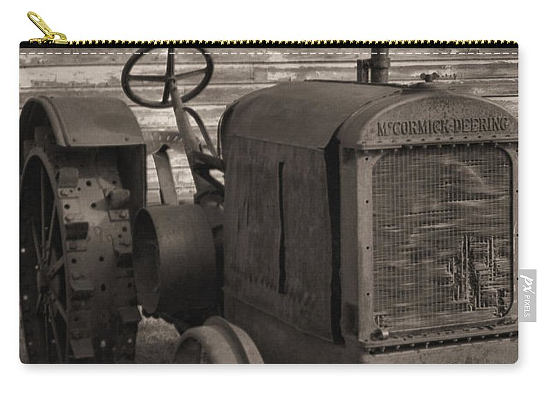 Abandoned Carry-all Pouch featuring the photograph The Old Mule by Richard Rizzo
