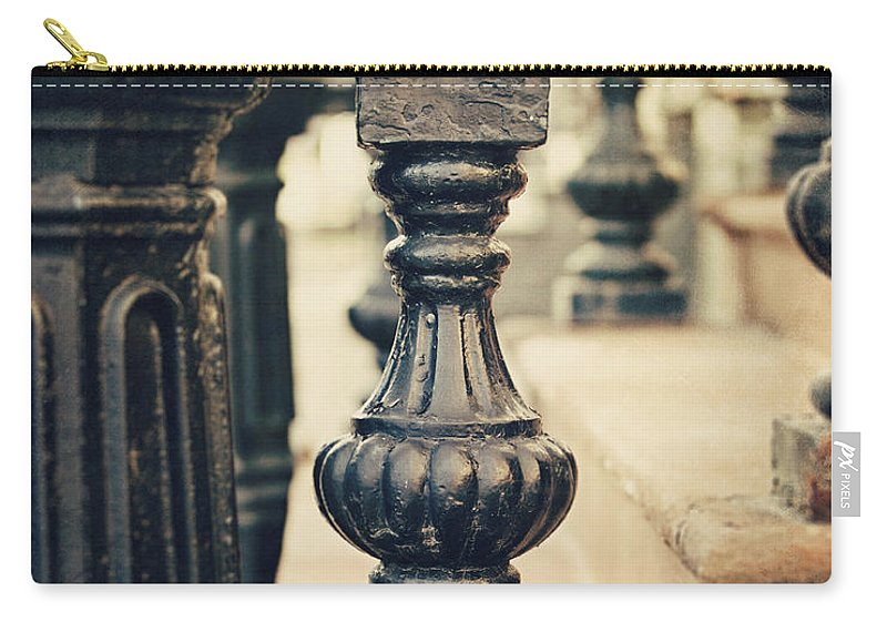 Step Carry-all Pouch featuring the photograph The Old Steps by Lisa Russo
