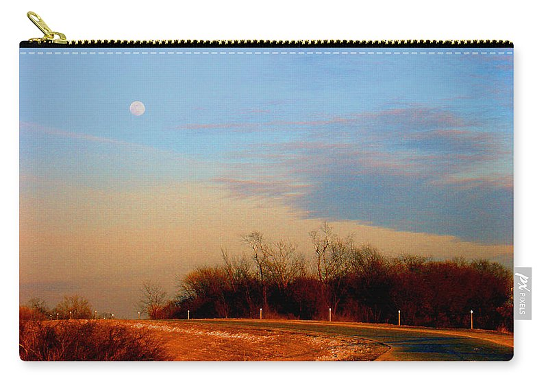 Landscape Carry-all Pouch featuring the photograph The On Ramp by Steve Karol