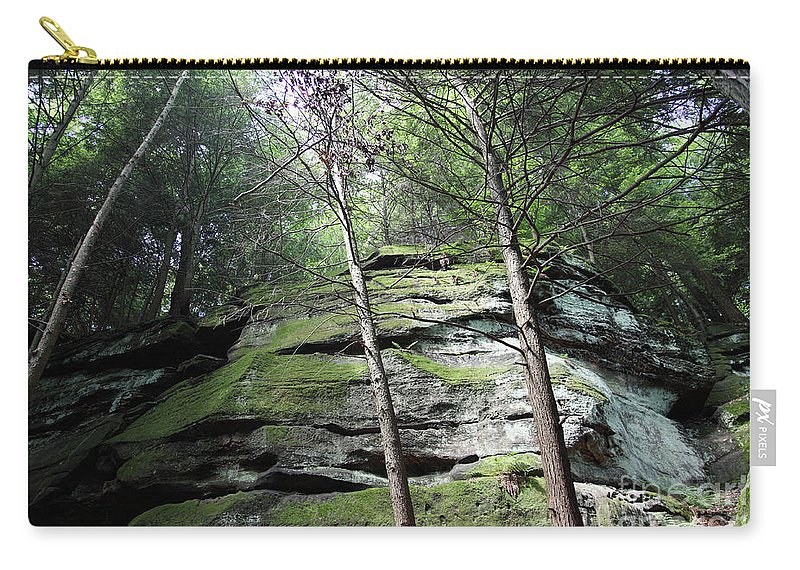 Nature Carry-all Pouch featuring the photograph The Original My Space by Amanda Barcon