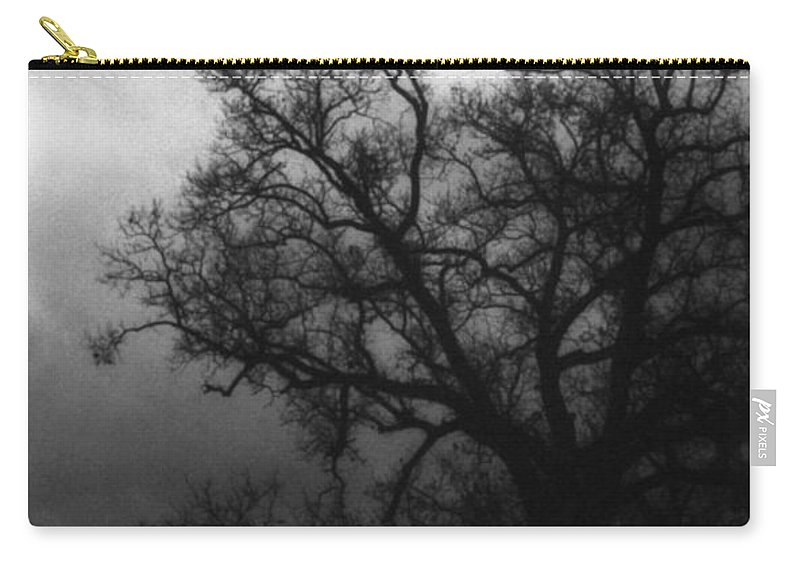 Eerie Carry-all Pouch featuring the photograph The Other Side by Richard Rizzo