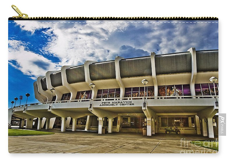 Lsu Carry-all Pouch featuring the photograph The P Mac by Scott Pellegrin