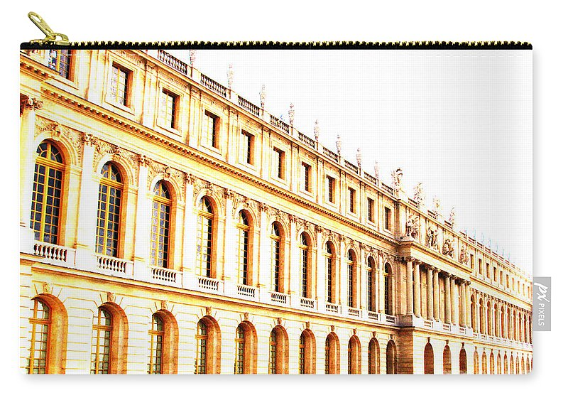 Versailles Carry-all Pouch featuring the photograph The Palace by Amanda Barcon