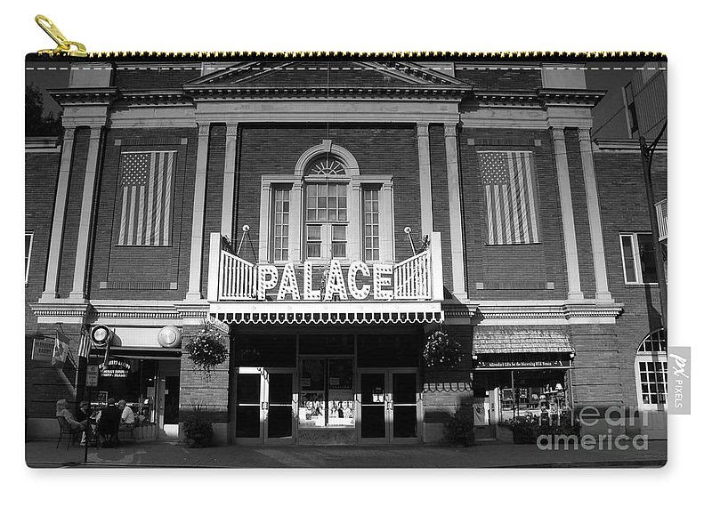 Palace Theater Carry-all Pouch featuring the photograph The Palace by David Lee Thompson