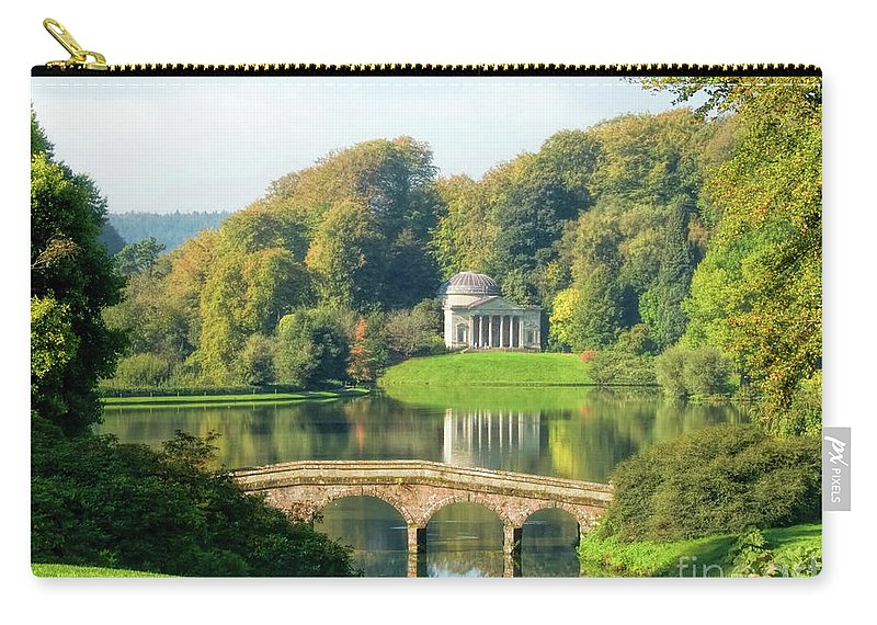 Wiltshire Carry-all Pouch featuring the photograph The Pantheon by Susie Peek