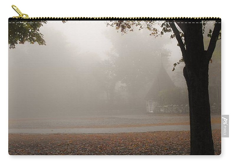 Rock City Carry-all Pouch featuring the photograph The Parking Entrance To Rock City by Lori Mahaffey