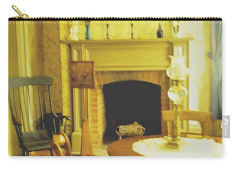 Pioneer Carry-all Pouch featuring the photograph The Parlour by Ian MacDonald