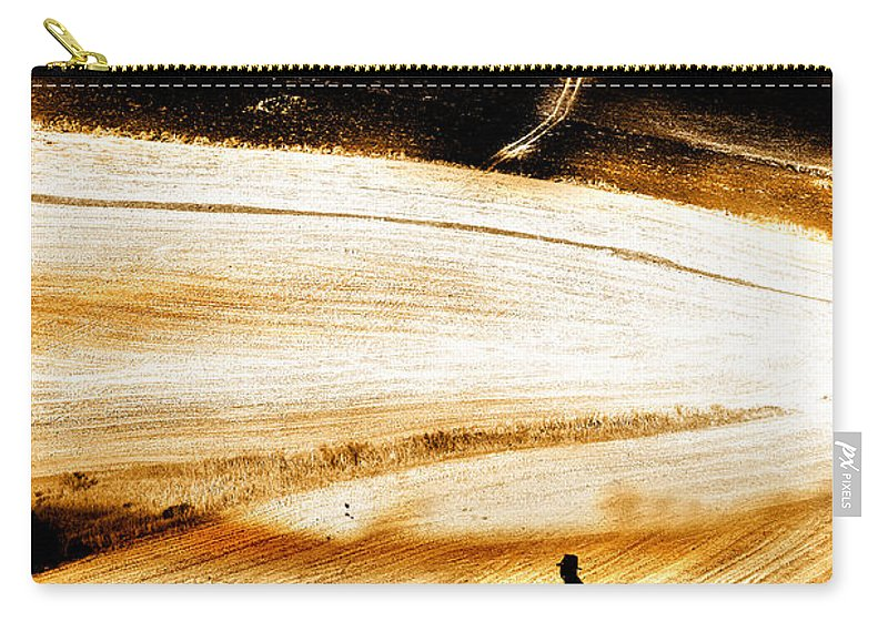 Landscape Carry-all Pouch featuring the photograph The Path Home by Mal Bray