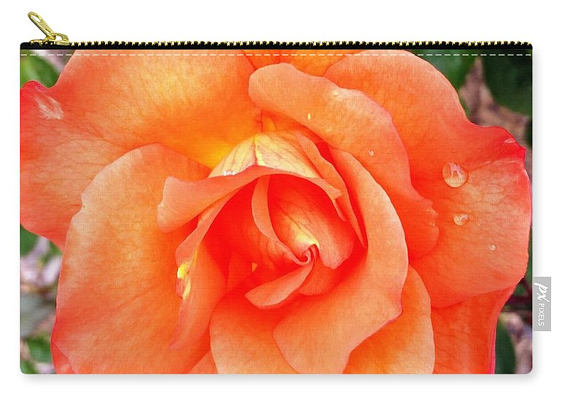 Flowers Carry-all Pouch featuring the photograph The peaceful place 9 by Valerie Josi