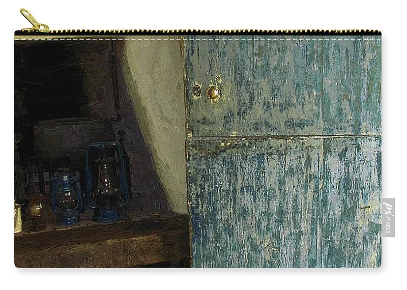 Cookstove Carry-all Pouch featuring the painting The Peasant's Dwelling by RC DeWinter