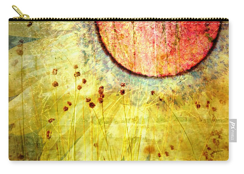 Flower Carry-all Pouch featuring the photograph The Petals by Tara Turner