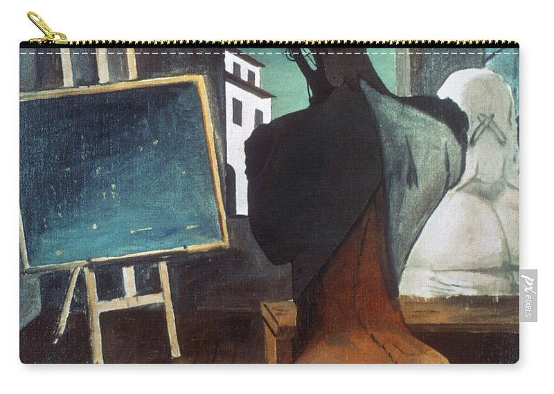 20th Century Carry-all Pouch featuring the photograph The Philosopher And The Poet by Granger
