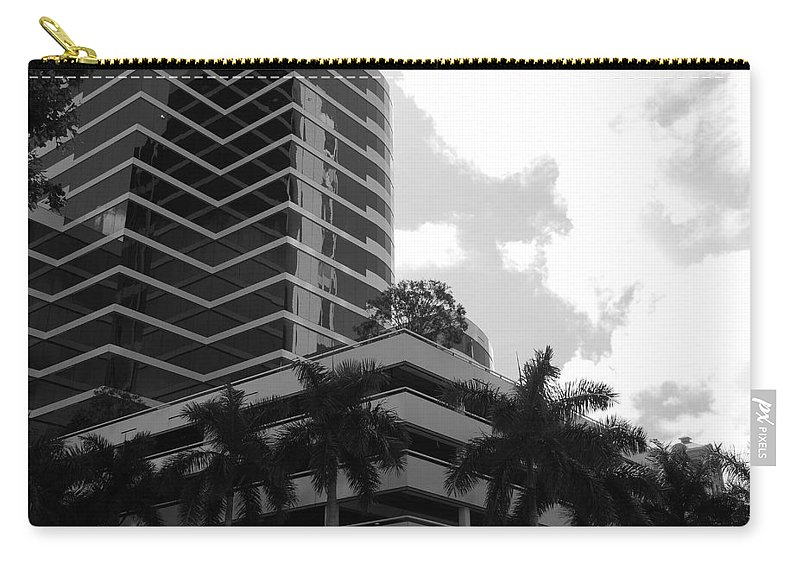 Architecture Carry-all Pouch featuring the photograph The Place To Be by Rob Hans