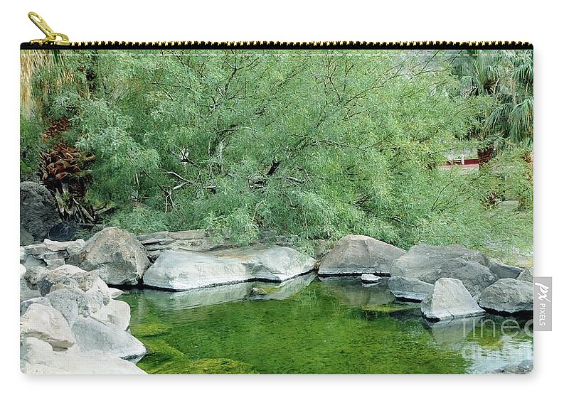 Pond Carry-all Pouch featuring the photograph The Pond by Kathleen Struckle