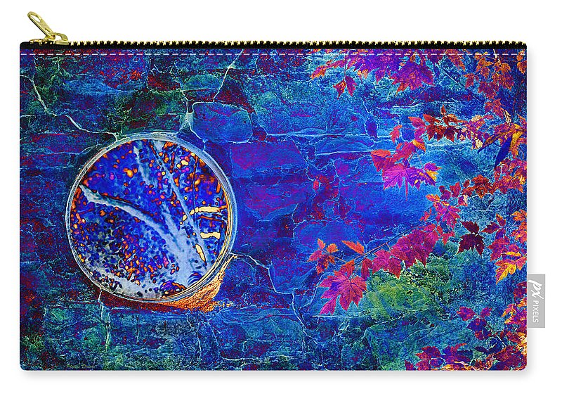 Portal Carry-all Pouch featuring the photograph The Portal by Phyllis Denton