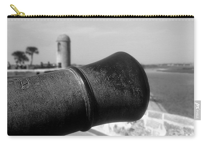 Castillo De San Marcos Carry-all Pouch featuring the photograph The Power Of Empire by David Lee Thompson