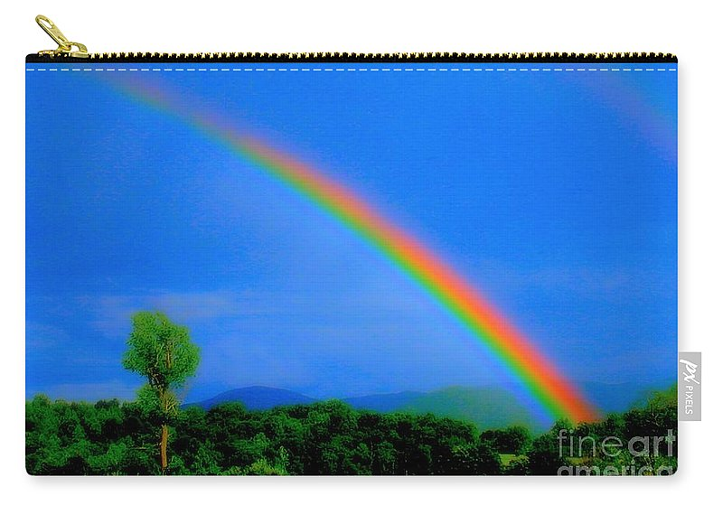 The Promise Carry-all Pouch featuring the photograph The Promise by Patti Whitten