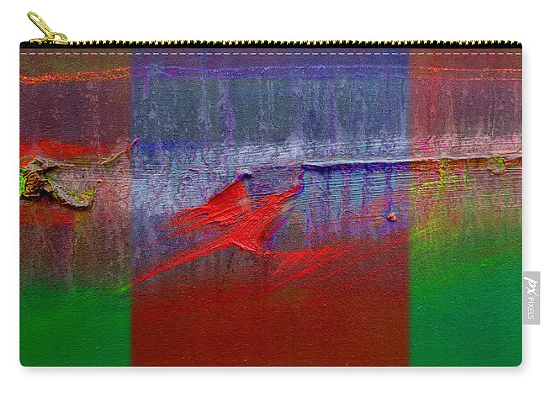 Landscape Carry-all Pouch featuring the painting The Red Dragon Tatoo by Charles Stuart