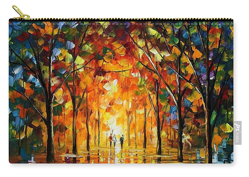 Afremov Carry-all Pouch featuring the painting The Return Of The Sun by Leonid Afremov