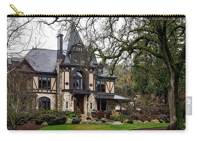 Rhine House Carry-all Pouch featuring the photograph The Rhine House Of Napa Valley by Mountain Dreams