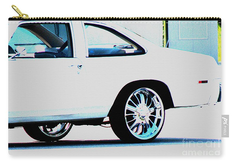 Car Carry-all Pouch featuring the photograph The Ride by Amanda Barcon