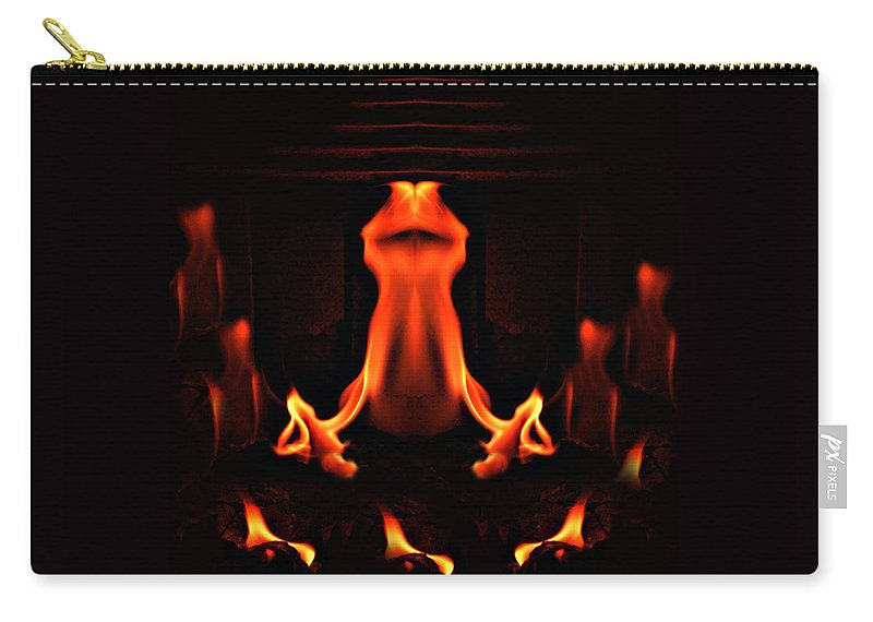 Ritual Carry-all Pouch featuring the photograph The Ritual by Munir Alawi