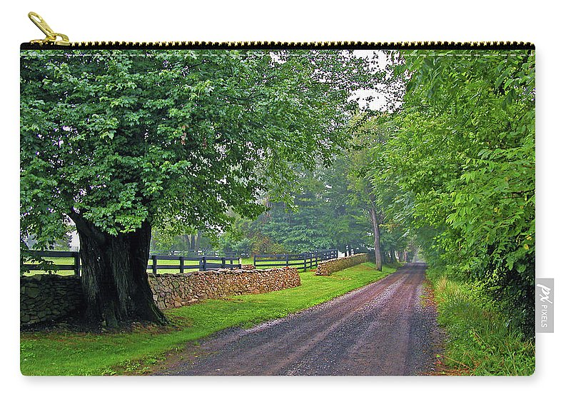 Nature Carry-all Pouch featuring the photograph The Road Less Traveled by Kay Lovingood