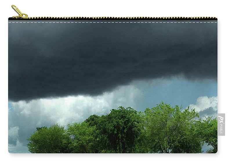 The Roar Of God Carry-all Pouch featuring the photograph The Roar Of God by Peter Piatt