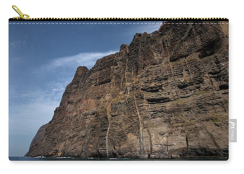 Valasretki Carry-all Pouch featuring the photograph The Rocks Of Los Gigantes 1 by Jouko Lehto
