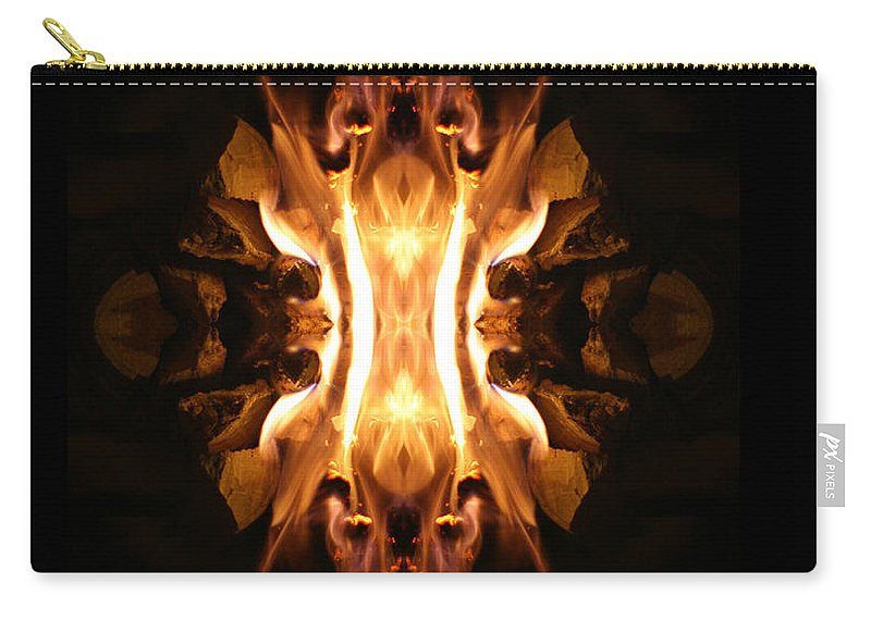 Photographs Carry-all Pouch featuring the photograph The Screamer by Munir Alawi