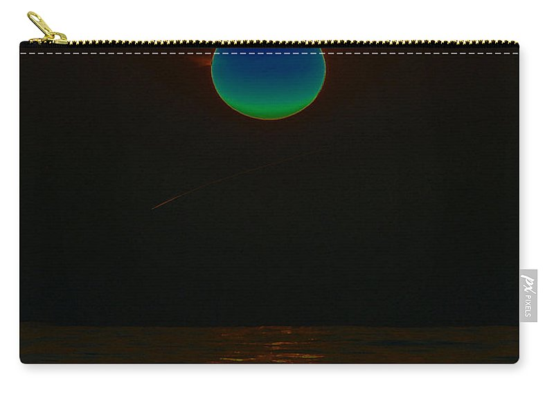 Art Carry-all Pouch featuring the painting The Sea Of Tranquility by David Lee Thompson