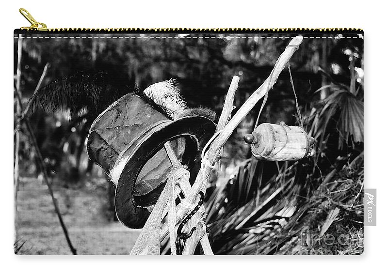 Shaman Carry-all Pouch featuring the photograph The Shaman's Hat by David Lee Thompson