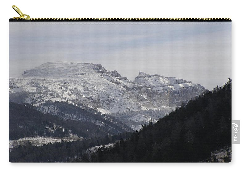Mountian Carry-all Pouch featuring the photograph The Sleeping Indian by DeeLon Merritt