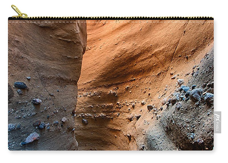 Slot Carry-all Pouch featuring the photograph The Slot by Peter Tellone