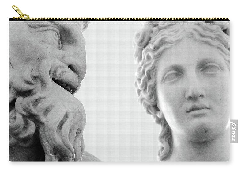 Rome Carry-all Pouch featuring the photograph The Smiling Devil by Munir Alawi