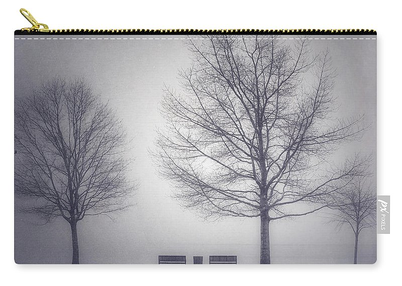 Photography Carry-all Pouch featuring the photograph The Soft Breath Of Winter by Tara Turner
