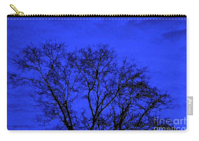 Tree Carry-all Pouch featuring the photograph The Sparkle Tree by Andee Design