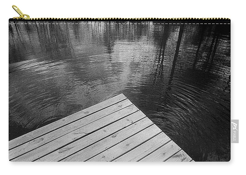 Pond Carry-all Pouch featuring the photograph The Spirits Of Kripplebush Pond by Yuri Lev