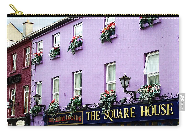 Irish Carry-all Pouch featuring the photograph The Square House Athlone Ireland by Teresa Mucha