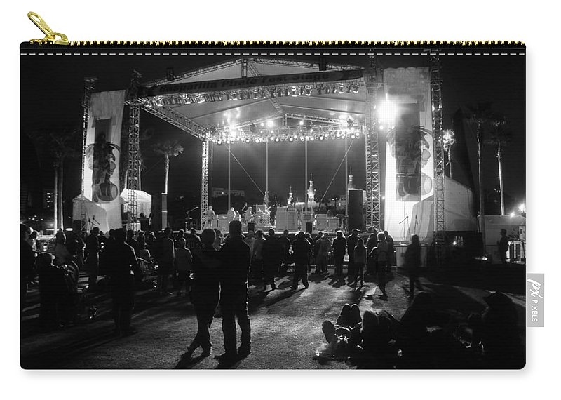 Music Carry-all Pouch featuring the photograph The Stage by David Lee Thompson